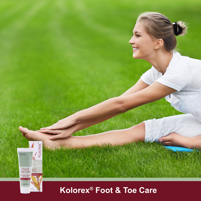 Kolorex[reg] Foot & Toe Care Cream